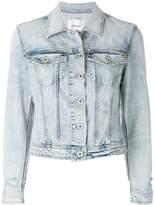 Dondup bleached effect denim jacket