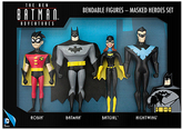Batman The New Adventures Masked Heroes Action Figure Set