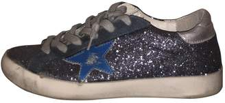 Golden Goose Superstar Metallic Exotic leathers Trainers