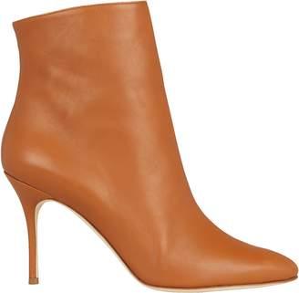 Manolo Blahnik Insopo Leather Booties