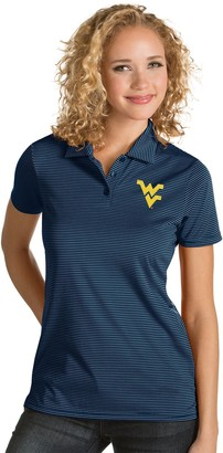Antigua Women's West Virginia Mountaineers Quest Polo
