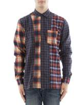 Nobrand No Brand Men's Multicolor Cotton Shirt.