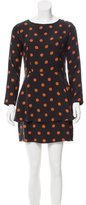 Steven Alan Silk Polka Dot Dress