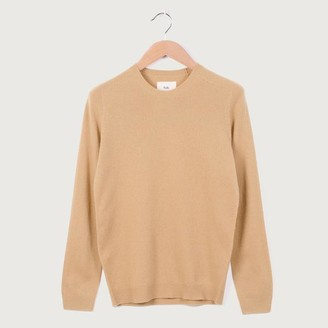 Folk Patrice Merino Crewneck Jumper Light Gold - 2