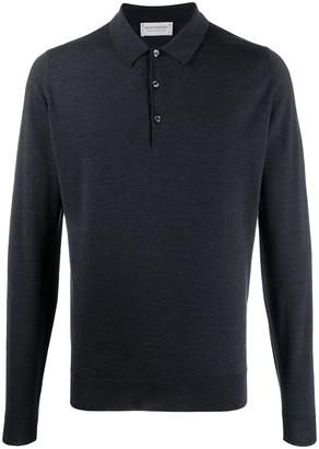 John Smedley Belper wool polo shirt