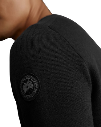 Canada Goose Men's Conway Crew Sweater w/ Logo Patch