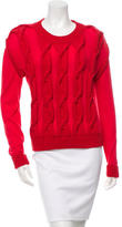 Lanvin Winter 2015 Cable Knit Sweater s w/ Tags