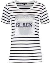 More & More Print Tshirt offwhite