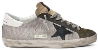 Golden Goose Superstar Net Low-Top Sneakers