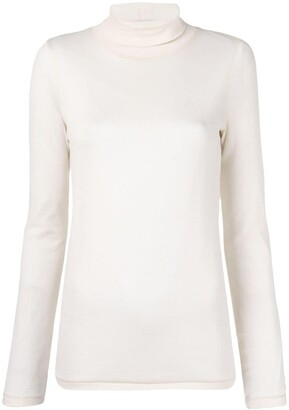 Ami Long Sleeves Tee With Turtle Neck