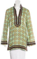 Tory Burch Printed Tunic Top