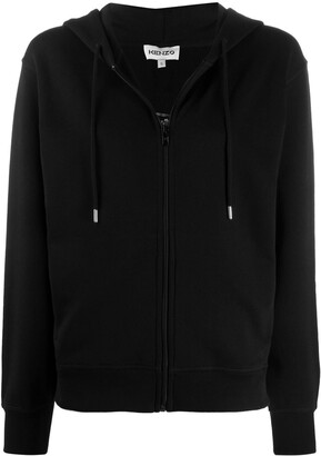 Kenzo Embroidered Tiger Zip-Up Hoodie