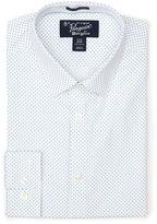 Original Penguin Long Sleeve Polka Dot Poplin Dress Shirt