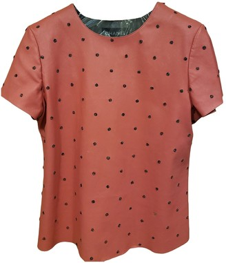 Chanel Pink Leather Top for Women
