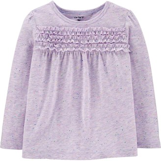 Carter's Toddler Girl Ruffled Jersey Top