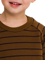 American Apparel Kids Striped Fleece Raglan Pullover