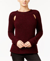 American Rag High-Low Cutout Sweater, Created for Macy's