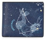 Michael Kors Capricorn Leather Astrology Billfold