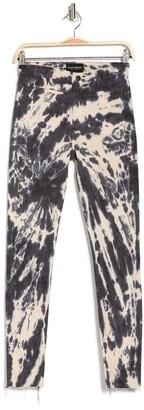 Black Orchid Ava Tie Dye Patch Pocket Skinny Jeans