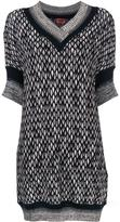 Missoni v-neck sweater dress