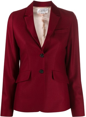 Victoria Victoria Beckham Fitted Button Blazer
