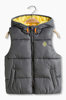 Esprit Padded hooded gilet