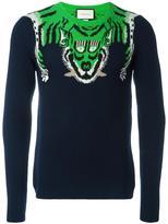 Gucci tiger jumper