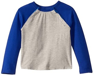 Abilitee Adaptive Wear Adaptive Shoulder Snap Baseball Tee (Infant/Toddler/Little Kids)