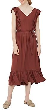 Vero Moda Ruffled Tie Waist Dress