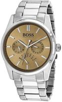 HUGO BOSS Classic 1513128 Men's Round Silver Stainless Steel Watch