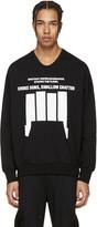 Niløs Black Graphic Pullover