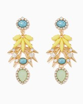 Charming charlie Spikes & Stones Earrings
