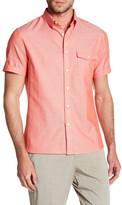 Perry Ellis Woven Short Sleeve Regular Fit Shirt