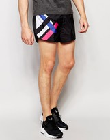 Religion Retro 80's Runner Shorts