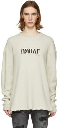 Unravel Beige Waffle Logo Skate T-Shirt