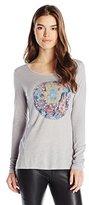 Lucky Brand Women's Floral Hamsa T-Shirt