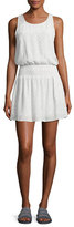 Joie Lawska Sleeveless Silk Dress, White