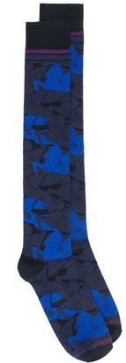 Etro Camouflage Pegaso socks