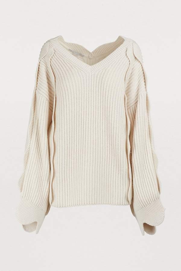 b0bda19a6eda Stella McCartney White Women s Sweaters - ShopStyle