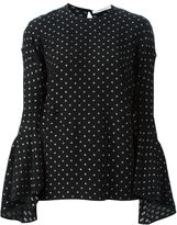 Givenchy star print blouse - women - Silk/Polyester - 36