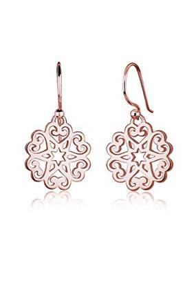 Elli Women Earring Ornament Heart Star Floral 925 Silver Earrings