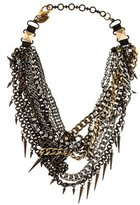 Fallon Multi Strand Chain Link Necklace