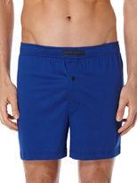 Perry Ellis Mini Chevron Knit Boxer Short