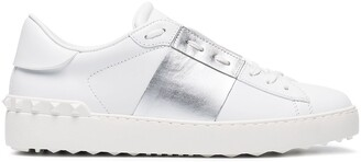 Valentino Open metallic sneakers