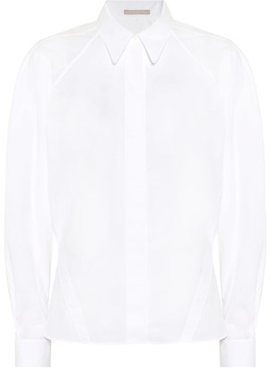 Alaia Cotton-poplin shirt