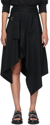 3.1 Phillip Lim Black Handkerchief Skirt