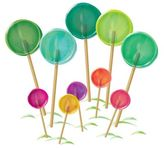 Wall Candy Arts WallCandy Arts WallCandy Lollipop Patch Wall Decals