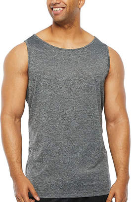 THE FOUNDRY SUPPLY CO. The Foundry Big & Tall Supply Co. Big and Tall Mens Crew Neck Sleeveless Moisture Wicking Tank Top