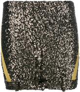 A.F.Vandevorst glitter mini skirt