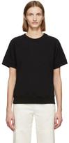 MM6 MAISON MARGIELA Black Short Sleeve Sweatshirt